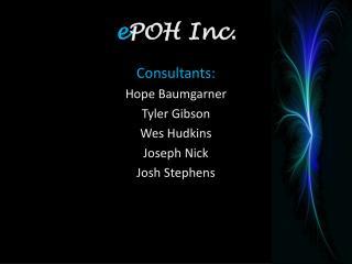 e POH Inc.