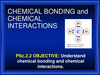 CHEMICAL BONDING and CHEMICAL INTERACTIONS