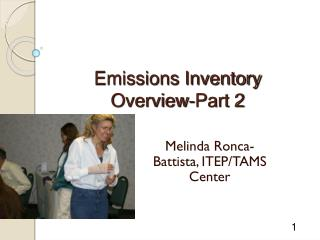 Emissions Inventory  Overview-Part 2