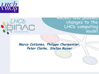 Recent and planned changes to the LHCb computing model