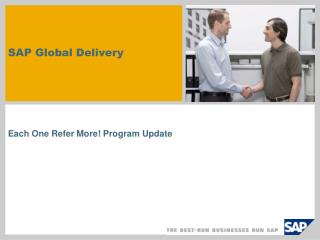 SAP  Global Delivery
