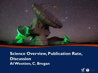 Science Overview, Publication Rate, Discussion