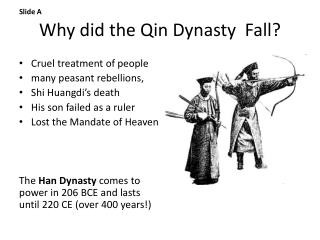 Why  did the  Qin Dynasty   F all ?