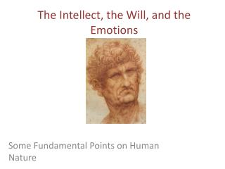 The  Intellect, the Will, and the Emotions