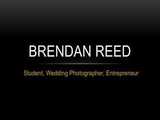 Brendan Reed