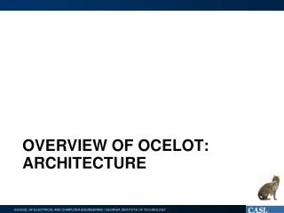 Overview of Ocelot: architecture