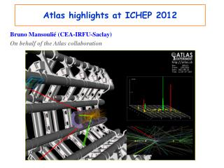 Atlas highlights at ICHEP 2012
