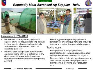 Reputedly Most Advanced Ag Supplier - Helal