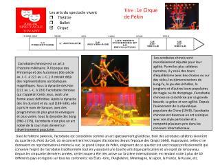 le cirque de pekin