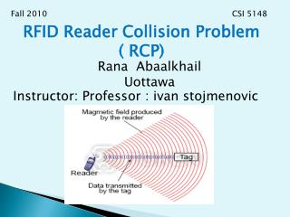 RFID Reader Collision Problem  ( RCP)