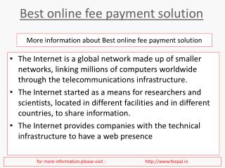 Tips for choosing the best online fee payment solution