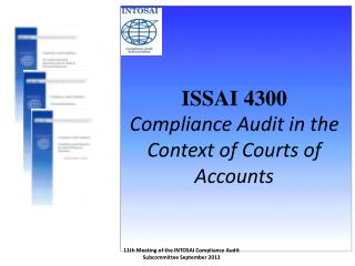 ISSAI 4300 Compliance Audit in the Context of Courts of Accounts