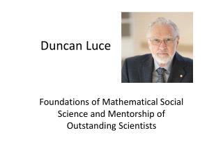 Duncan Luce