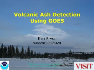Volcanic Ash Detection Using GOES