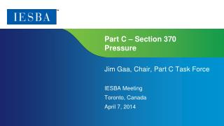 Part  C  – Section 370 Pressure