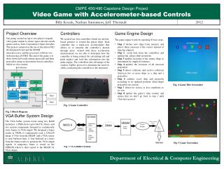 CMPE  450/490 Capstone  Design Project Video Game with Accelerometer-based Controls
