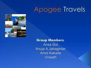 Group Members: Ansa Gul Anuja A.Jahagirdar  Amol Kakade Vineeth