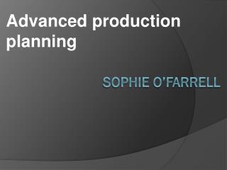 Sophie O'Farrell