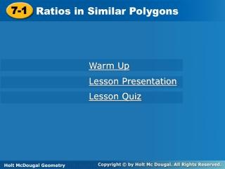 Polygon Unit Lessons