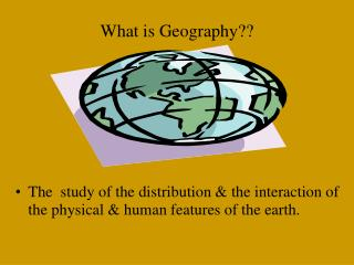 What is Geography??
