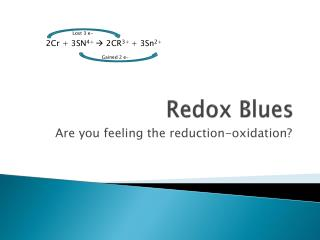 Redox  Blues