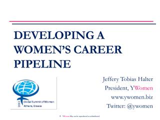 Developing a Women�s Career Pipeline