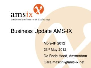 Business Update AMS-IX