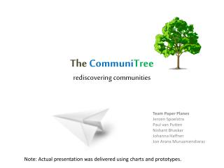 The Communi Tree rediscovering communities