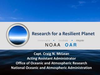 NOAA   OAR