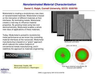 Nanolaminated Material Characterization
