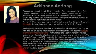 Adrianne  Andang
