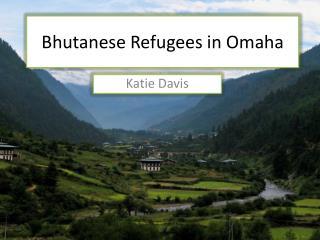 Bhutanese Refugees  in Omaha