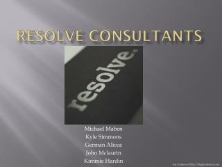 Resolve Consultants
