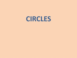 Circles: Graphs  Circumference