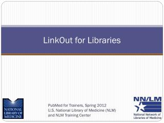 LinkOut for Libraries
