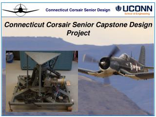Connecticut Corsair Senior Design