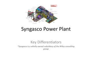 Syngasco  Power Plant