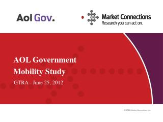 AOL Government Mobility Study