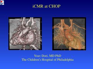 iCMR at CHOP