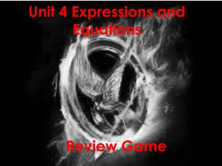 Unit  4  Expressions and Equations