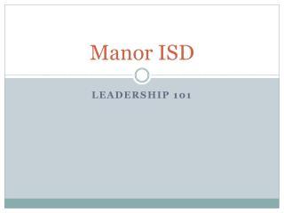 Manor ISD