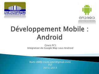 Développement Mobile : Android