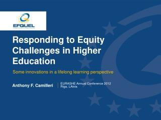 Responding to Equity Challenges in Higher Education