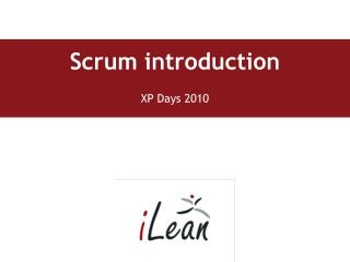 Scrum introduction