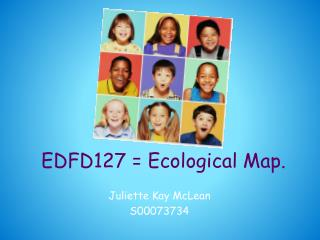 EDFD127 = Ecological Map.