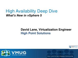 High Availability Deep Dive