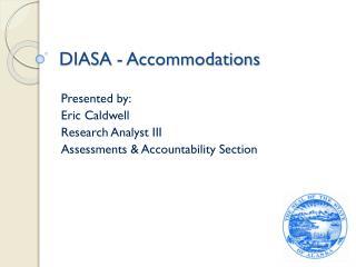 DIASA - Accommodations