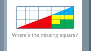 Where's the missing square?