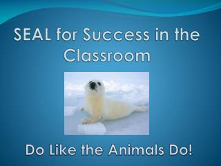 SEAL for Success in the Classroom