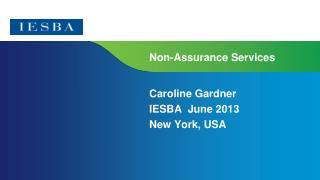 Non-Assurance Services